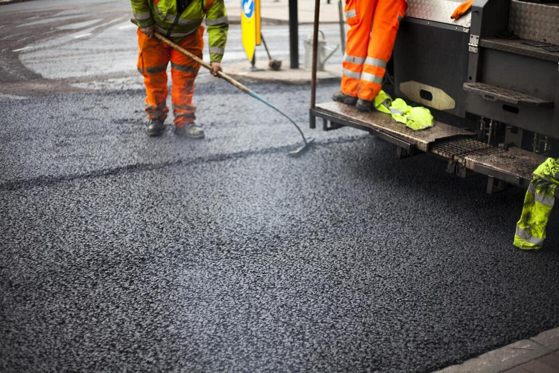 concrete asphalt and road works